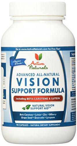 Activa-Naturals-Vision-Supplement-with-Beta-Carotene-Lutein-Bilberry-Quercetin-Grape-Seeds-Herbs-90-Veg-Caps