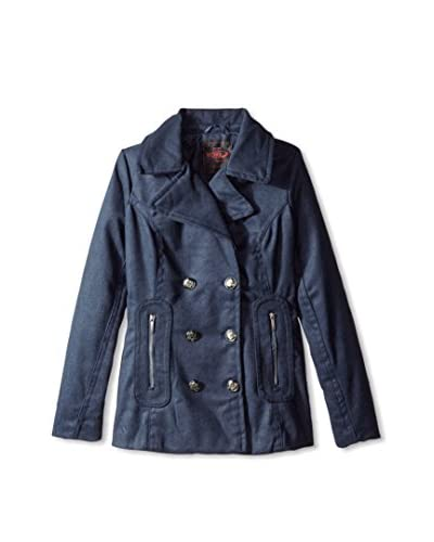 Yoki Women's Double-Breasted Short Jacket