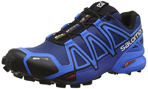 Salomon Speedcross 4 Cs, Scarpe da Trail Running Uomo, Blu (Blue Depths/Bright Blue/Black), 47 1/3 EU