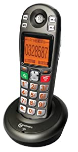 Geemarc Additional handset for the AMPLIDECT 280 and 285 amplified cordless DECT telephone- UK Version