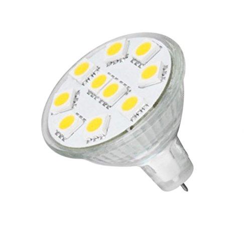 Anyray® Mr11 Led Light Bulb Gu4 Base 165Lm Flood Beam Lamp Soft White (Warm White)