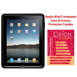 OtterBox Commuter Case & Screen Protector Combo for Apple iPad