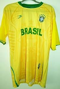 Brasil PRO Soccer Jersey :: PRO Futball Jersey (YELLOW) SIZE MEDIUM/LARGE- ONE SIZE