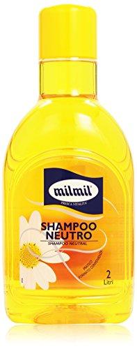 Milmil - Shampoo Neutro, Per Tutti I Tipi di Capelli , 2 l
