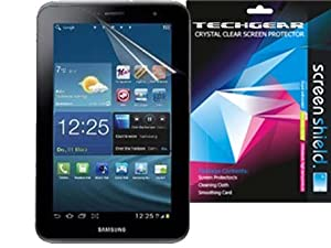 **PACK OF 2** SAMSUNG GALAXY TAB 2 7.0 / P3100 & with WIFI P3110 (7 inch) CLEAR Screen Protector with cleaning cloth - TECHGEAR