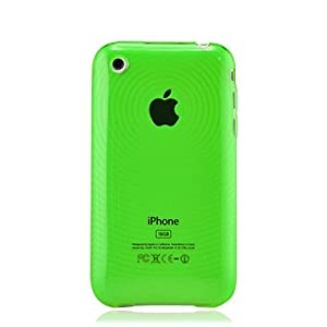 iPhone 3GS and iPhone 3G Glossy Pond Ripples Skin (Green)