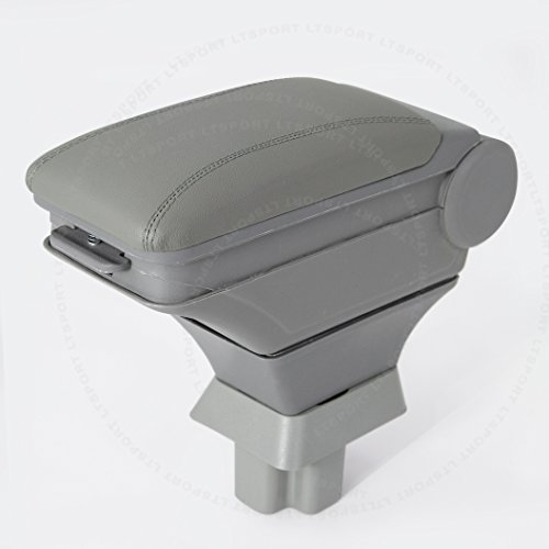 LT Sport SN#100000000884-230 For Toyota Grey Arm Storage Box Center Console Armrest (2001 Toyota Sequoia Armrest Cover compare prices)