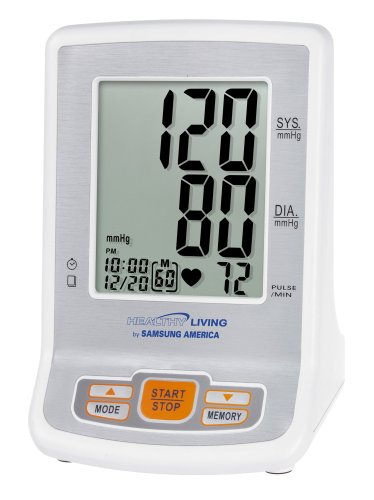 Cheap Samsung Healthy Living BVM-1007 Manual Inflate Thinline Flat Screen Blood Pressure Monitor (BVM-1007)