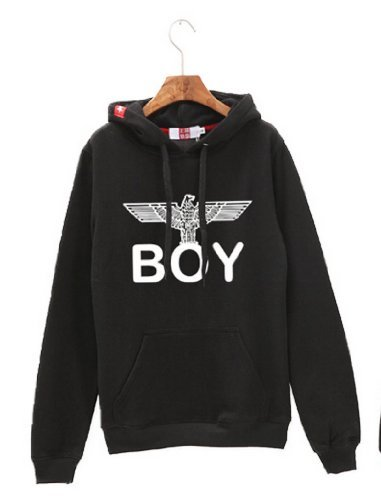 Stile bigbang Big Bang BOY London Boy London Felpe con cappuccio nero M taglia 01FBM per le donne (japan import)