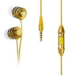iDance In-ear EarBuds EB-X204 Earphone (Yellow)