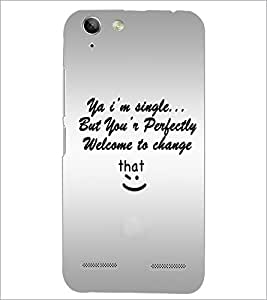 PrintDhaba Quote D-4895 Back Case Cover for LENOVO LEMON 3 (Multi-Coloured)