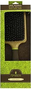 Macadamia Oil Paddle Cushion Brush with Boar Bristles