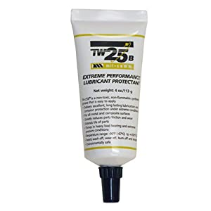 Mil-Comm TW25B grease 4 oz tapered tip tube