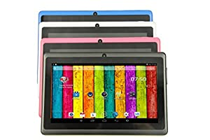 "DanCoTek 7"" Quad Core A33 Android 4.4.2 Bluetooth WiFi Capacitive Touch HD 1024*600 Dual Camera 4GB Tablet PC (Blue)"