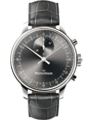 MeisterSinger Singular MM307 Chronograph with one single hand for Him Classic Design