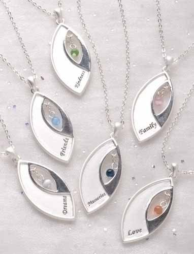 Club Pack of 12 Inspirational Beloved Blessing Pendant Necklaces