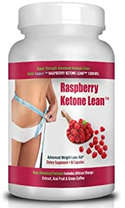 Nutri-LeanX 1200mg PREMIUM 100% PURE RASPBERRY KETONE Free Delivery BOTTLE OF 60 - DR OZ RECOMMENDED AS SEEN ON TV