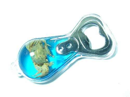 Crab Bottle Opener with Magnet