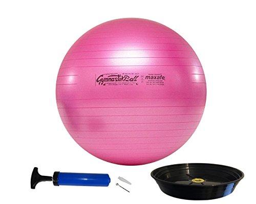 PEZZIBALL-MAXSAFE-Gymnastikball-Schale-Pumpe-42-53-65-75-cm-ALLE-Farben-fuchsia-65