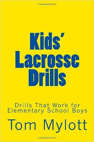 Kids' Lacrosse Drills: Drills That Work for Elementary School Boys