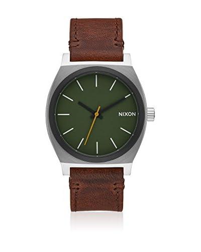 Nixon Reloj con movimiento japonés Man Nixon Time Teller 37 mm