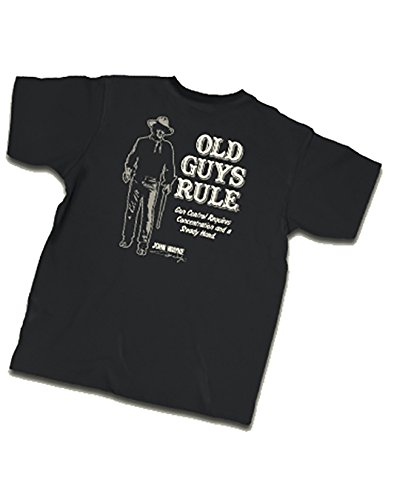 Old Guys Rule Men's Gun Control Tee, Black, X-Large (Old Guys Rule T Shirts compare prices)