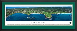 Golf Courses - Framed Panoramic Photo by Blakeway