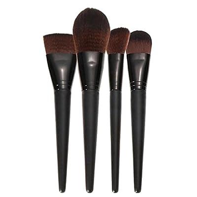 Yoyorule Professional Makeup Brushes Soft Hair Make Up Brushes Foundation Powder Brush