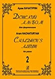 img - for Children's Album for piano. Volume 2 book / textbook / text book