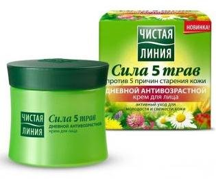 Clean Line - Daily Anti-Aging Cream For The Face A Series Of Five Power Herbs 45 Ml front-83037