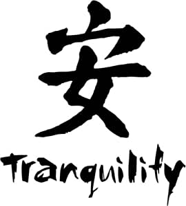 Amazon.com: Tranquility Chinese Symbol Character Graphic ...