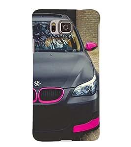 Excellent Car 3D Hard Polycarbonate Designer Back Case Cover for Samsung Galaxy Alpha G850