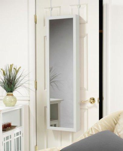 over the door jewelry armoire mirror cabinet