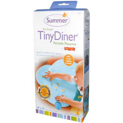Summer Tiny Diner for Highchairs, Blue