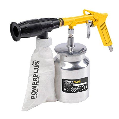 Druckluft-Sandstrahlpistole-incl-2-KG-Strahlsand-Sandstrahler-Sandstrahlgert-mit-Rckgewinnung