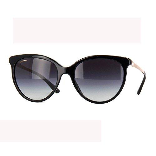 Bulgari 8161, occhiale da sole Donna, nero