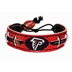 Buy Atlanta Falcons Team Color NFL Football Bracelet by GameWear