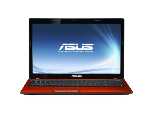 Asus K53E 15.6 inch Laptop (Intel Core i3 2330 2.2GHz, RAM 4GB, HDD 500GB, LAN, WLAN, Webcam, Windows 7 Home Premium 64 Bit) - Red