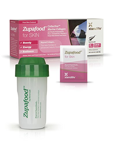 Zupafood for SKIN - Get Beautiful Flawless-Looking Skin With 2000mg Of Collactive Marine Collagen Per Serving
