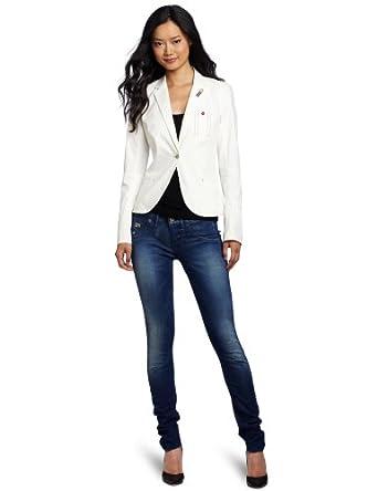 G-Star Raw Women's Cruise Blazer, Off-White, 38