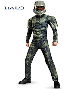 Halo Master Chief Muscle Kids Costume