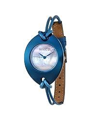 Invicta Women's 4077 Ceramics Collection Leaf Blue Watch