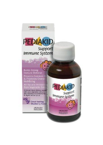 Support Immune System-Pediakid All Natural Liquid Children Vitamins & Mineral Supplement To Help Children Improve Immune Resistance