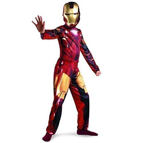 Iron Man - Kinder Marvel Comics Ironman 2 Kostüm Halloween Party Outfit