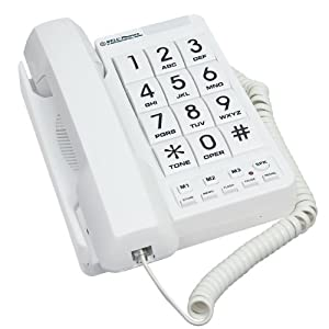 Northwestern Bell 88064206002 MB2060-1 Big Button Phone White