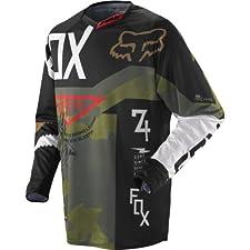 Fox Racing 360 Machina Youth Boys MX/Off-Road/Dirt Bike Motorcycle Jersey - Camo / Medium