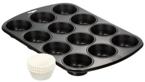 kaiser-87-0064-6022-set-muffin-comprensivo-di-stampo-12-muffin-antiaderente-60-pirottini-in-carta-ne