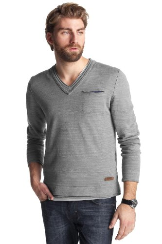 Esprit Men's Jumper Medium Grey Melange  L