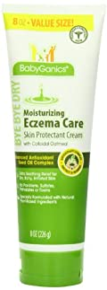 BabyGanics Bye Bye Dry Moisturizing Eczema Care Cream, 8 Fluid Ounce