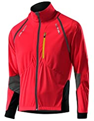 Löffler San Remo Gentlemen WS Softshell Light, Zip Off red Size 50 2015